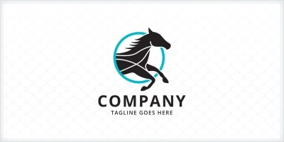 Black Horse - Logo Template