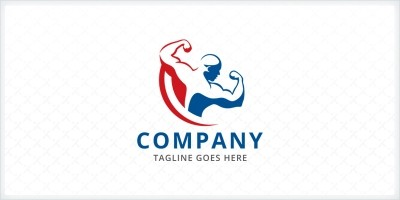 Body Builder - Logo Template