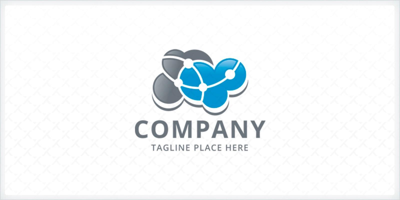 Cloud Network - Logo Template