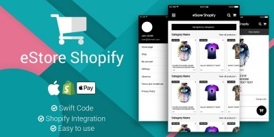 eStore Shopify - iOS App Source Code