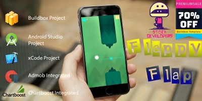 Flappy Flap - Buildbox Template