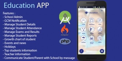 School Management System - Android Source Code | Codester