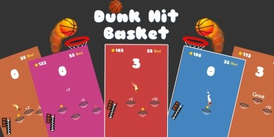 Dunk Hit Basket - Unity3D Source code