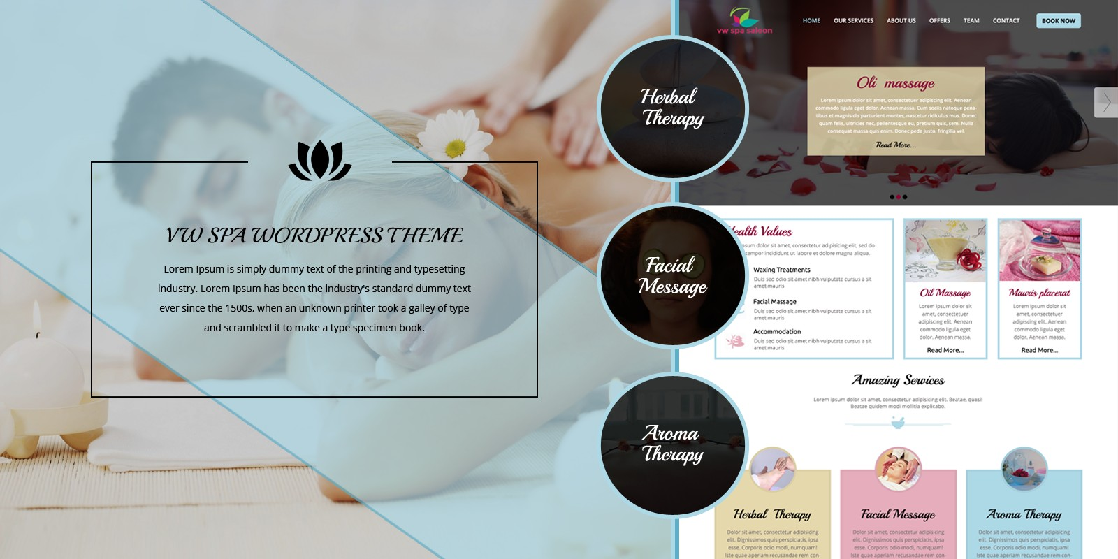VW Spa Pro - WordPress Theme