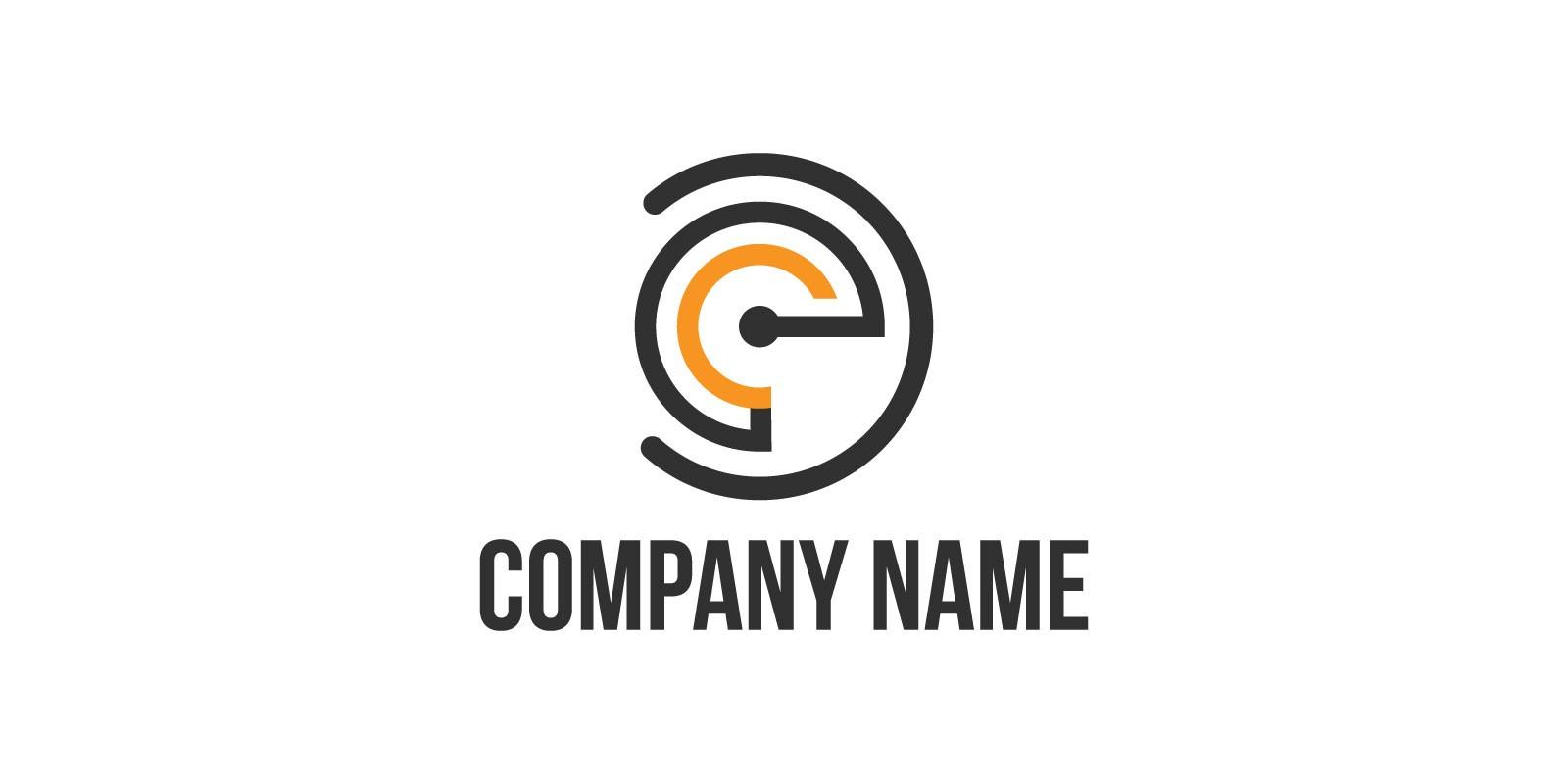 C Logo Template