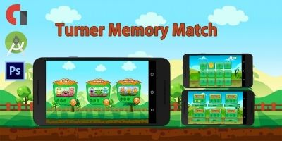 Turner Memory Match - Android Source Code