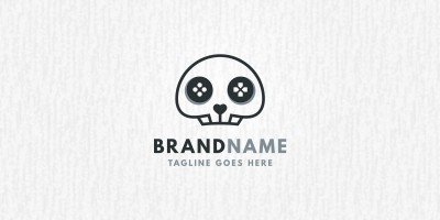 Skull Game - Logo Template