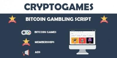 CryptoGames - Bitcoin Gambling Script