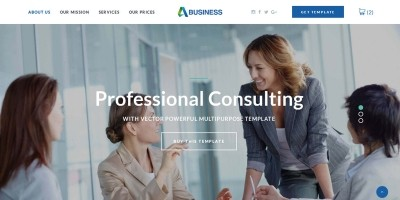 Business - Multipurpose  Website Template