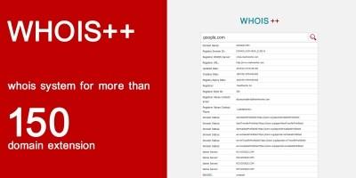 Domain Whois PHP Script