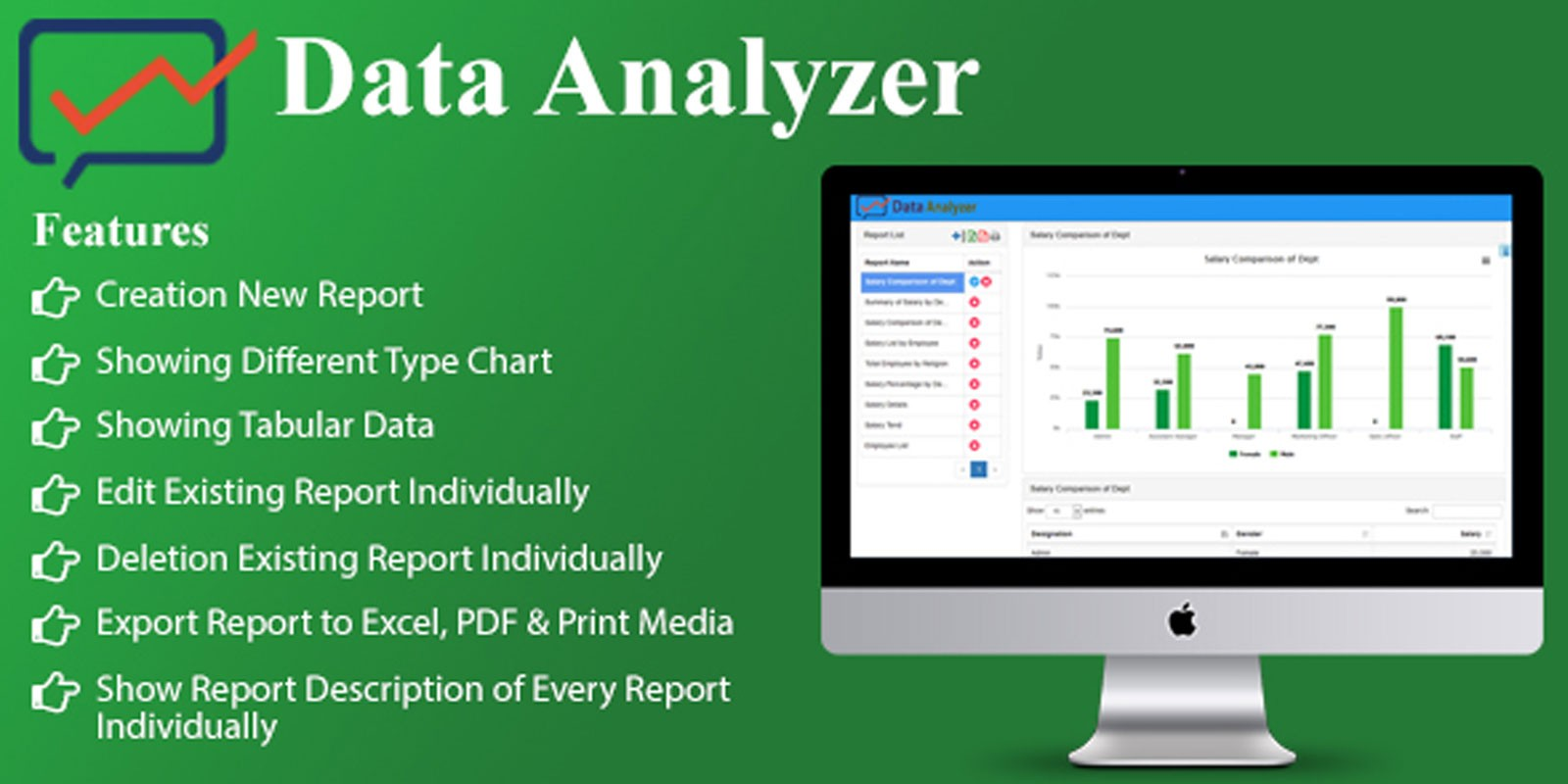 Data Analyzer - PHP Script