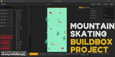 Mountain Skating – Buildbox Template