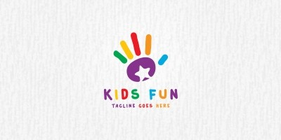 Kids Fun - Logo Template