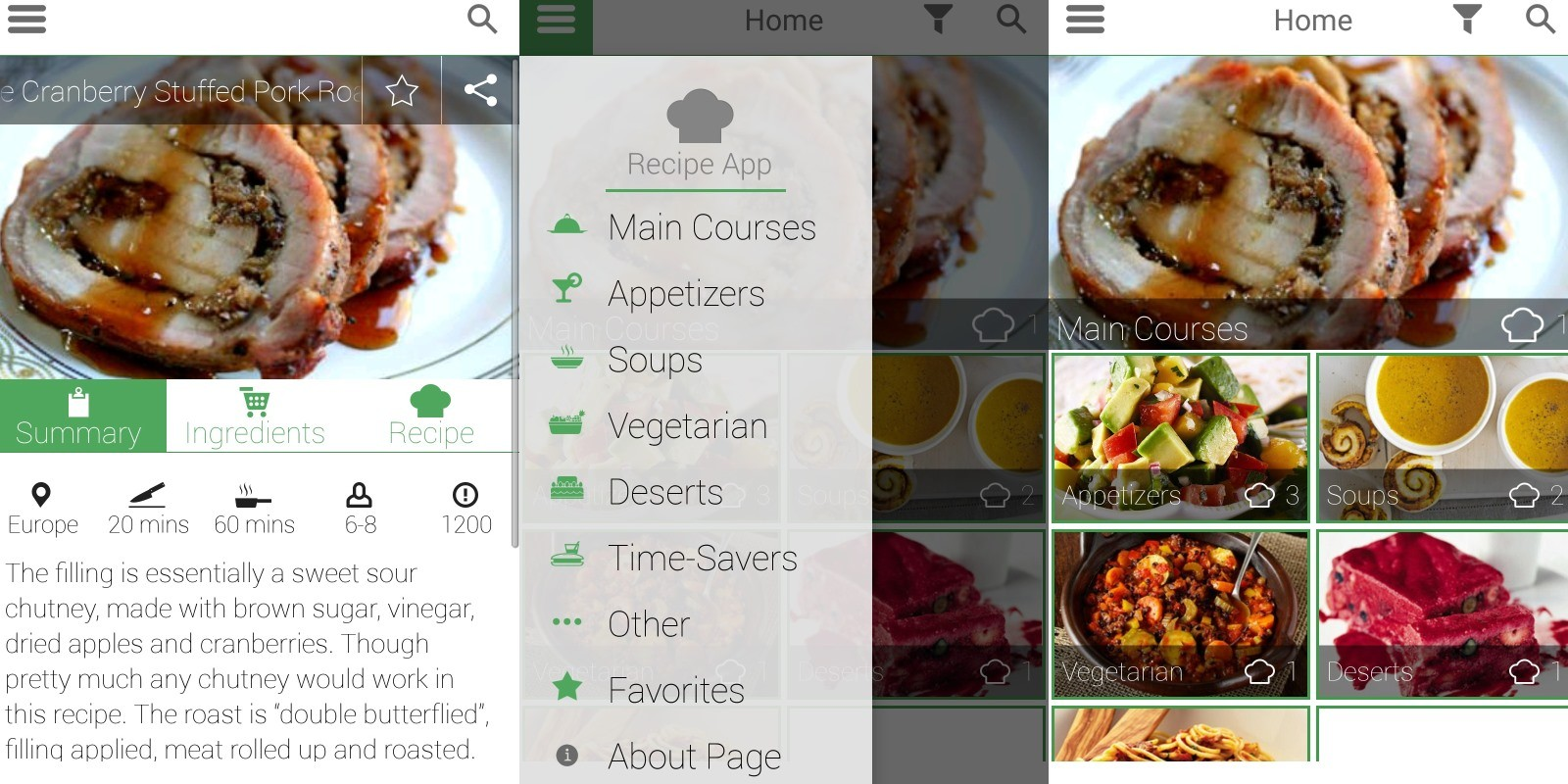 Recipe app android source code food app templates for android recipe app android source code forumfinder Image collections