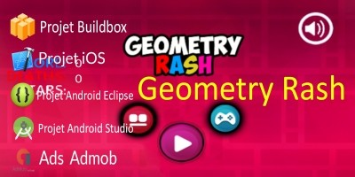 Geometry Rash - Buildbox Template