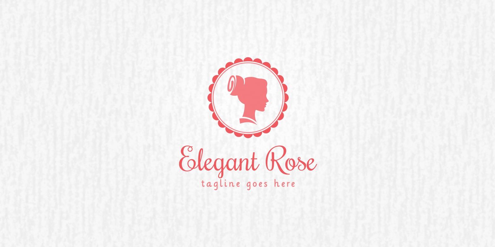 Elegant Rose - Logo Template