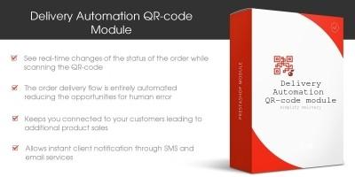 Delivery Automation QR-code - PrestaShop Module