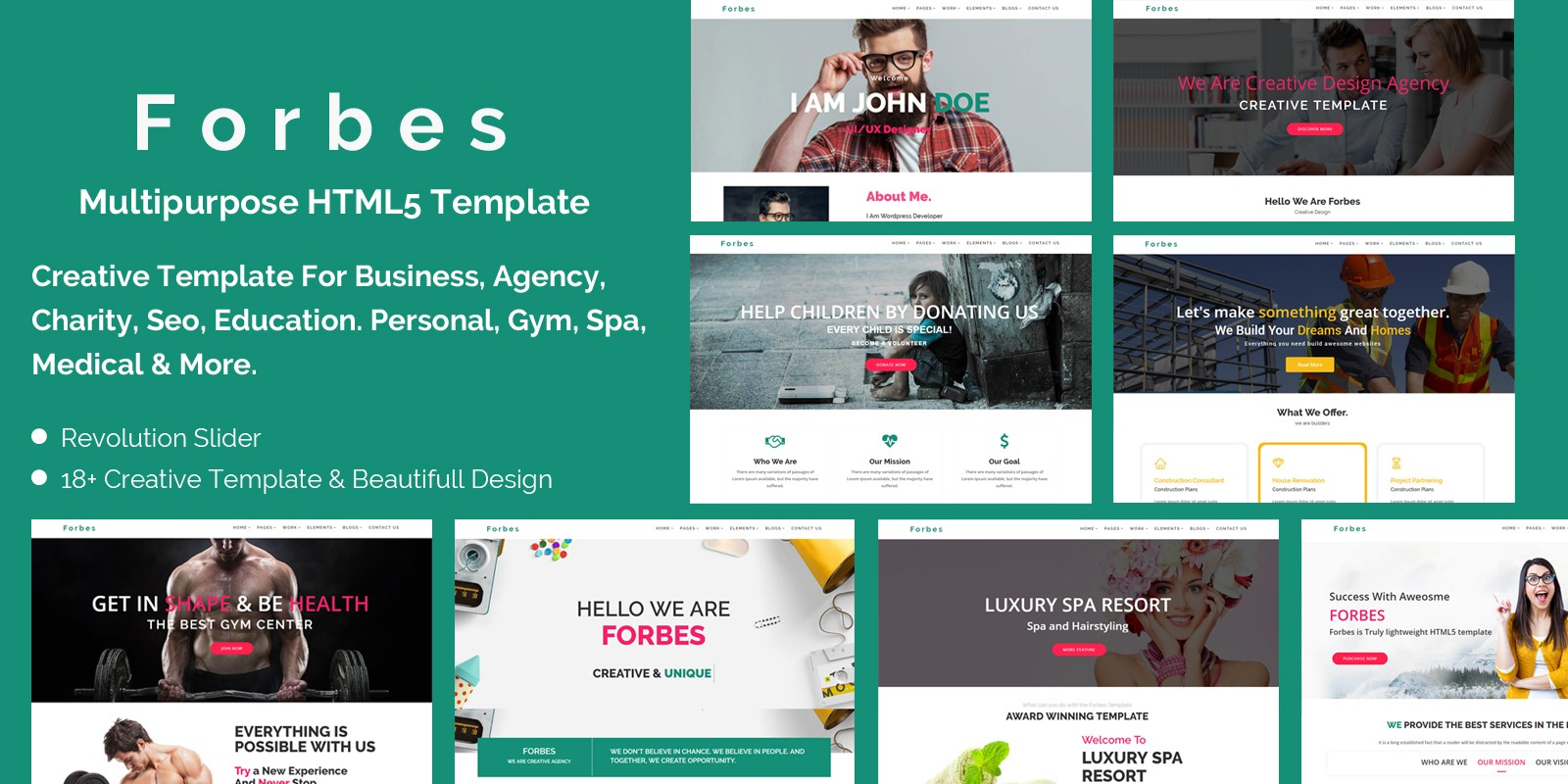 Forbes multipurpose html5 template business html website forbes multipurpose html5 template cheaphphosting Images
