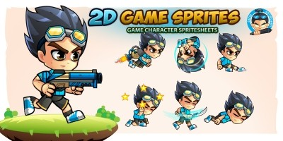 2D Game Character Sprites 15