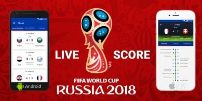 Live Scores Russia World Cup 2018 Android App