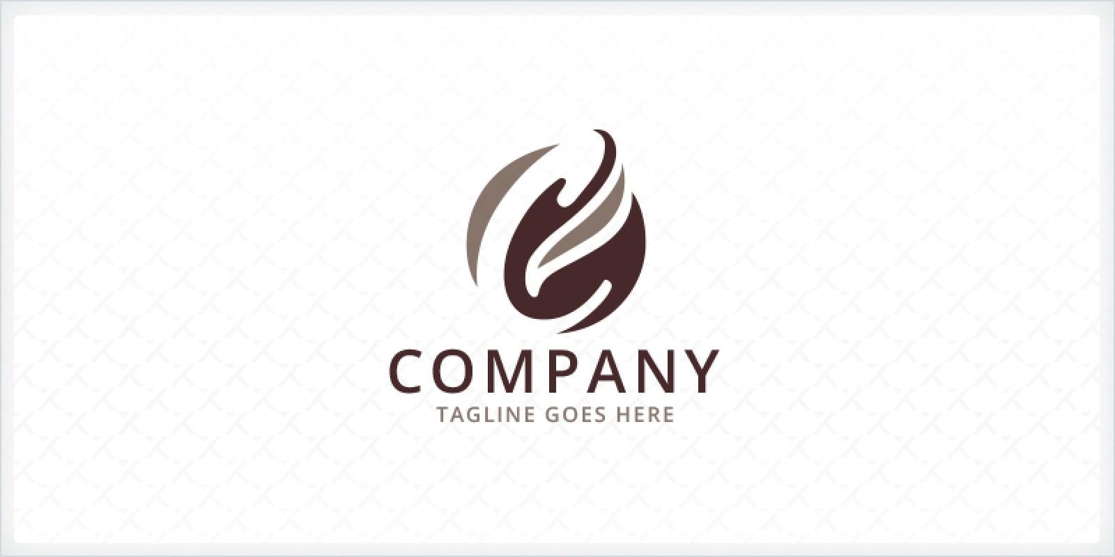 Letter c coffee bean logo letter logo templates codester letter c coffee bean logo spiritdancerdesigns Gallery