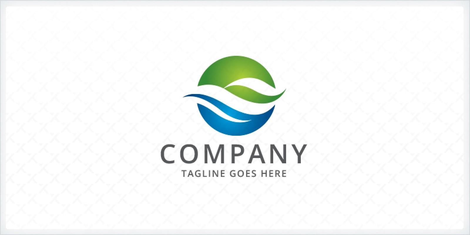 Ocean - Wave Logo