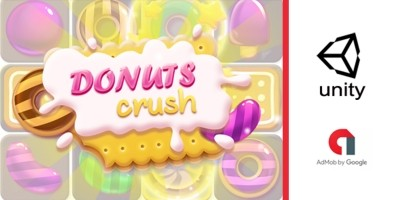 Donuts Crush - Complete Unity Project