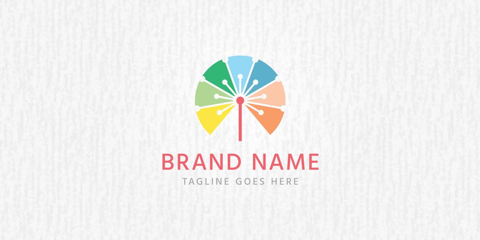 dandelion logo template creative webdesign logo templates