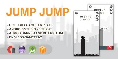 Jump Jump - Buildbox Game Template