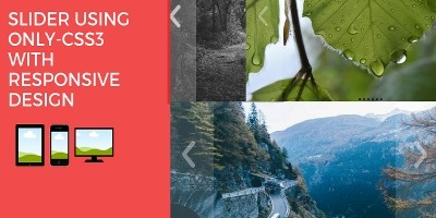 Slider Using CSS3 With Responsive Design