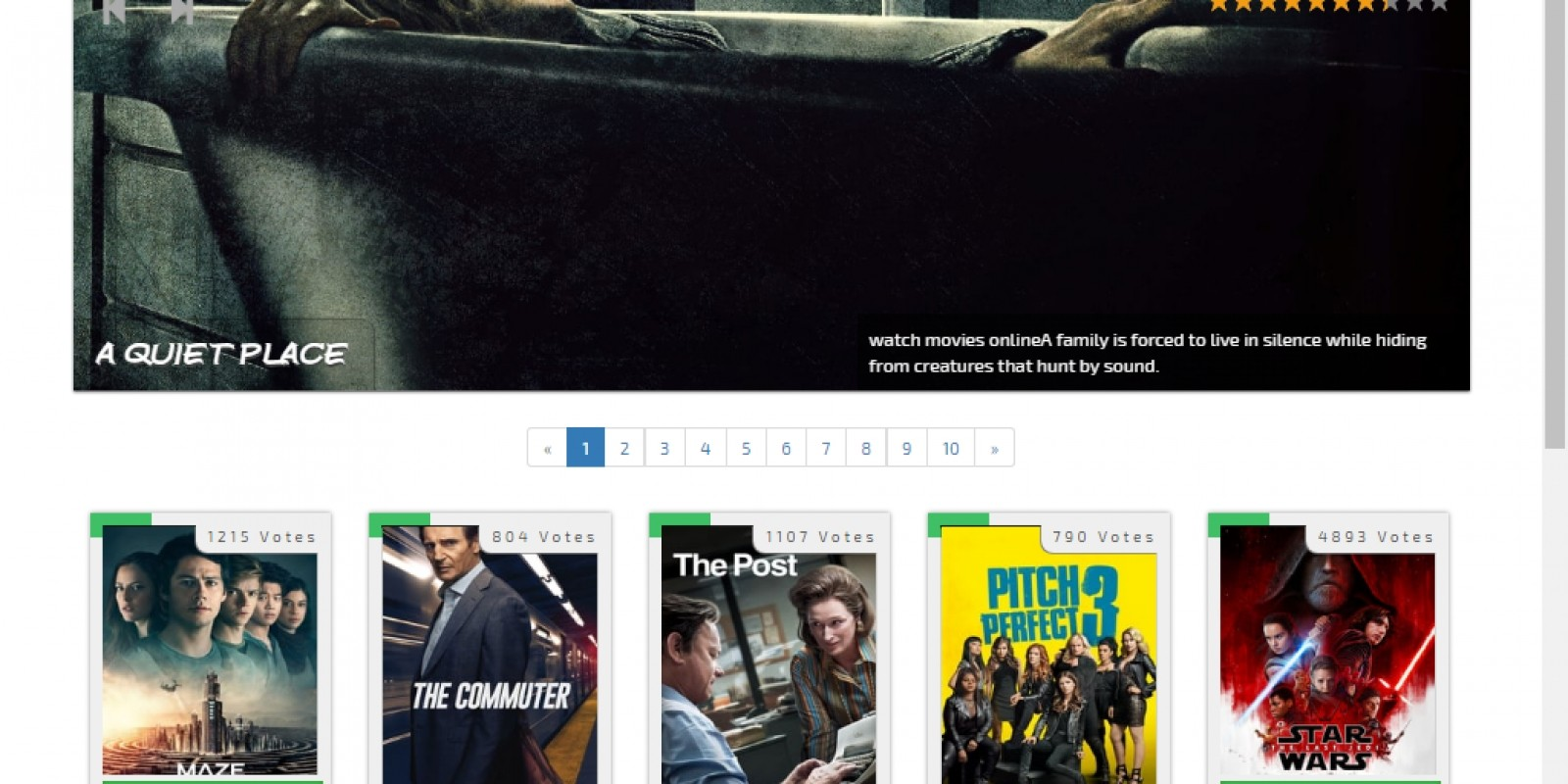 Movie Streaming Script PHP