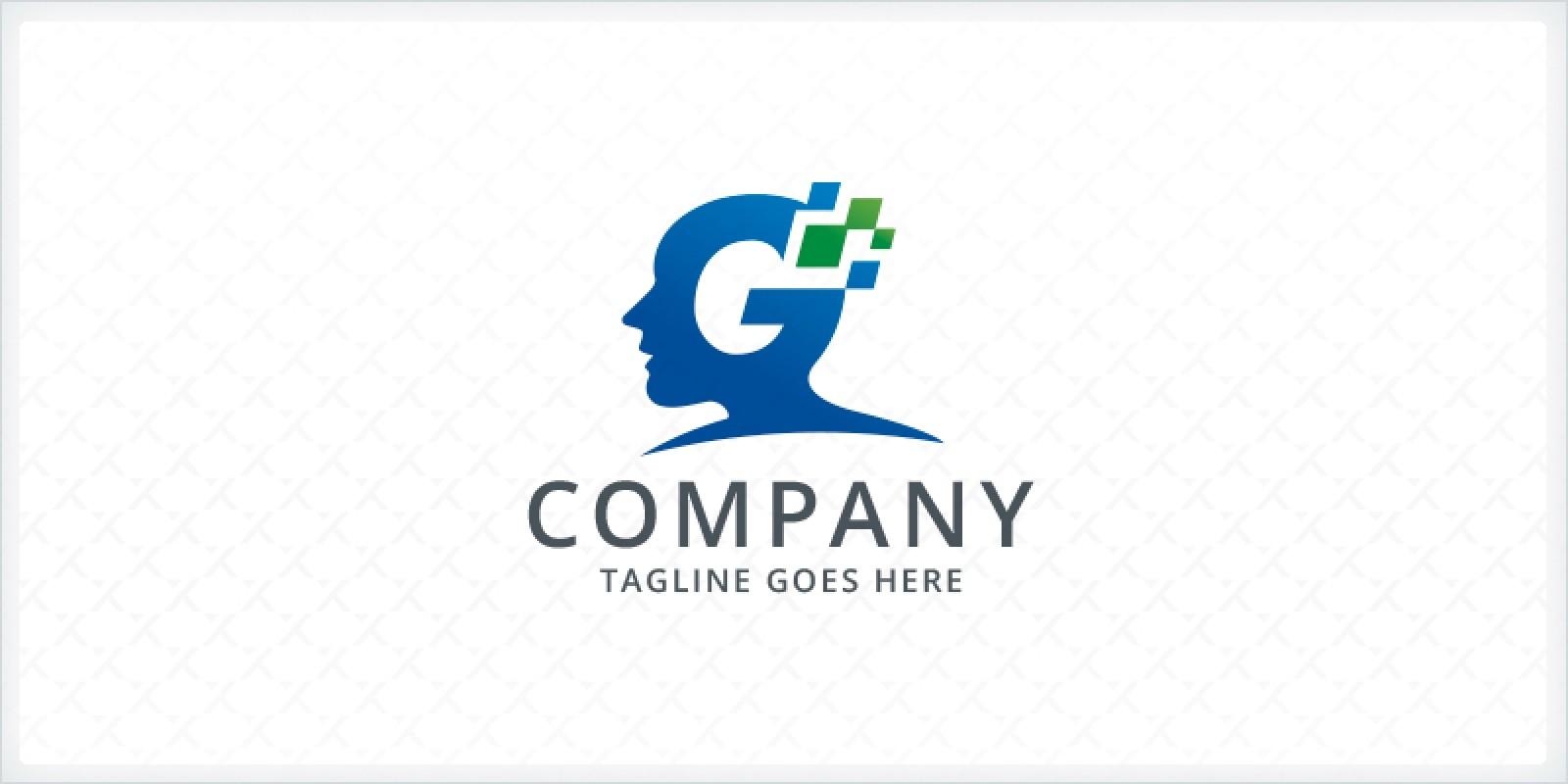Letter G Head Logo