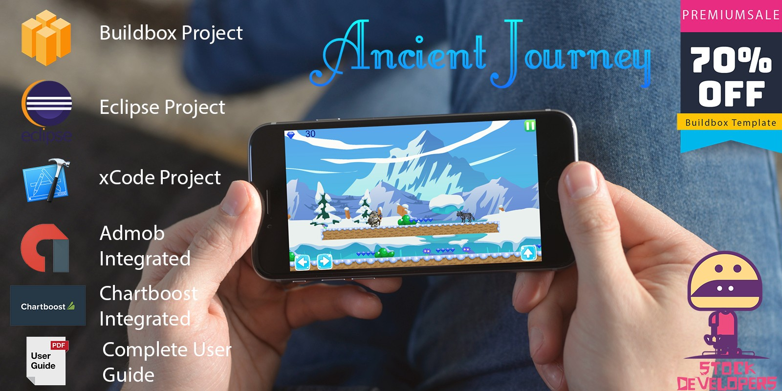 Ancient Journey - Buildbox Project