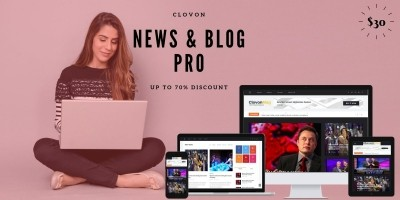 ClovonMag Online - News And Blog Script - Laravel