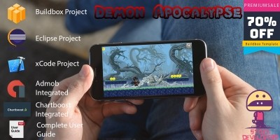 Demon Apocalypse - Buildbox Project