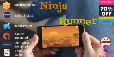 Ninja Runner - Buildbox Project