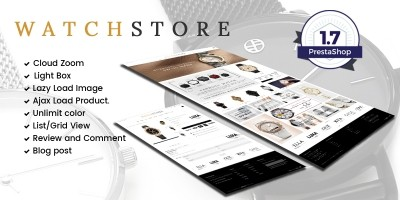 Watch And Accessories Store Prestashop Theme