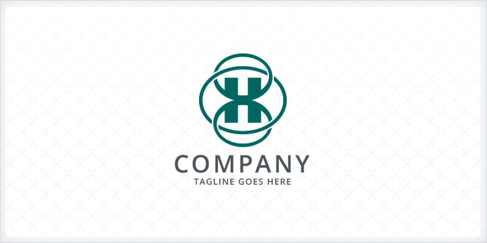 Interconnected Letter H Logo