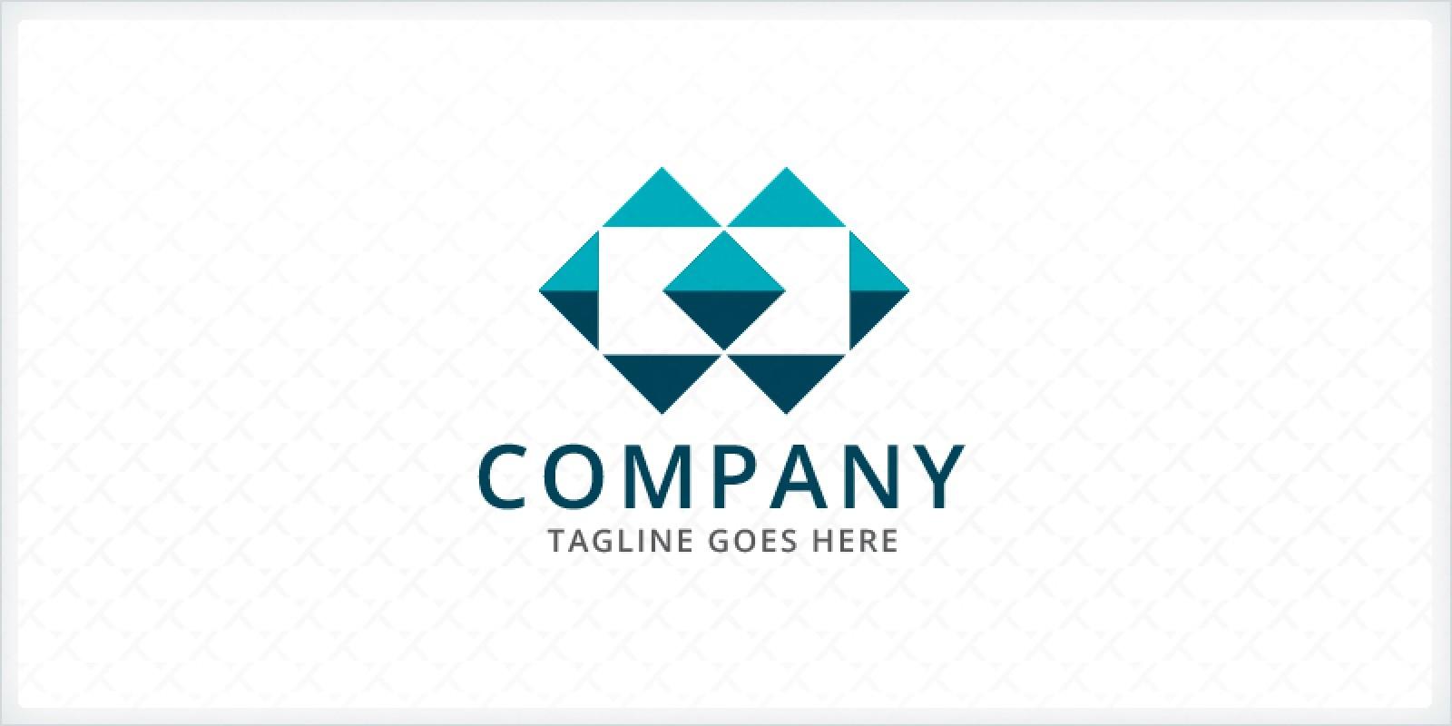 Mosaic Squares Tiles Logo