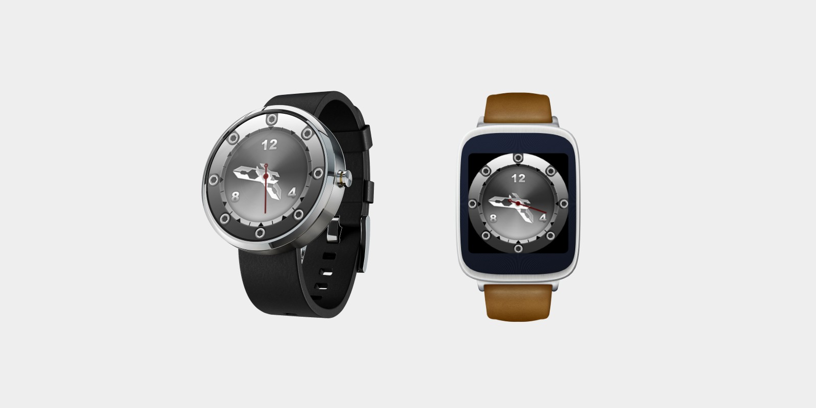 Metal Watch Face - Android Wear OS Source Code