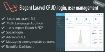 Laravel User Management And CRUD System