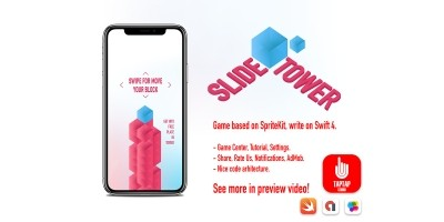 Slide Tower - iOS Source Code