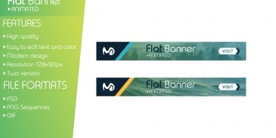 Flat Animated Banner