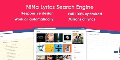 Lyrics Search Engine CMS PHP