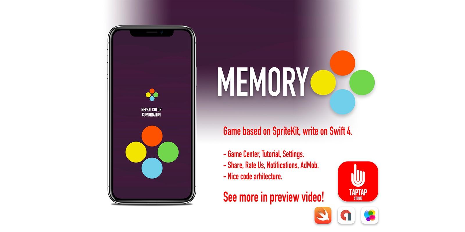 Memory iOS Source Code