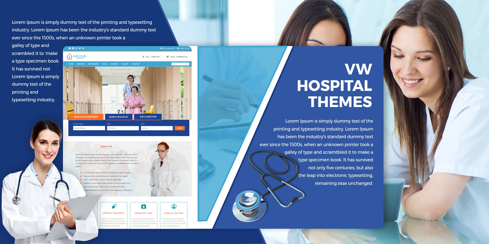 VW Hospital Pro WordPress Theme