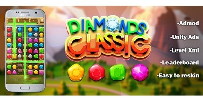 Diamonds Classic - Full Unity Project