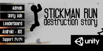 Stickman Run - Complete Unity Project