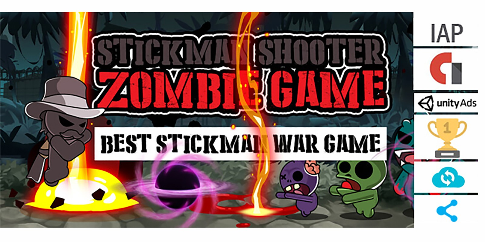 Stickman Shooter - Complete Unity Project