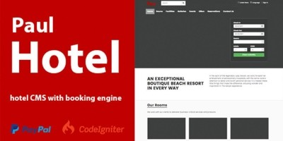 Hotel CMS With Booking Engine